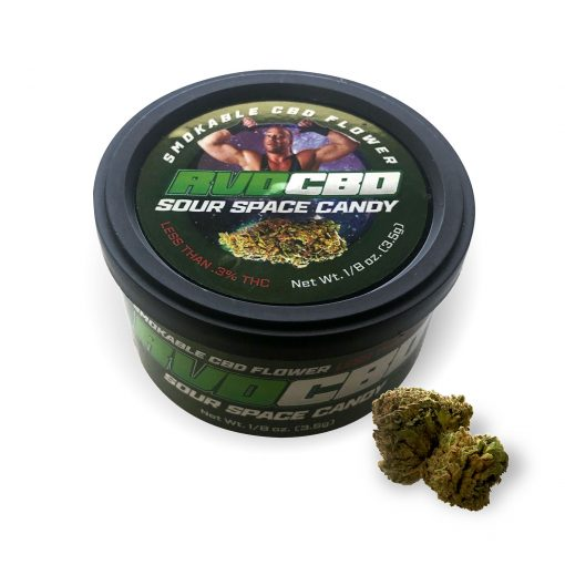 RVDCBD Sour Space Candy Flower – Main