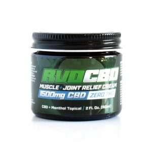 RVDCBD 1500mg Muscle + Joint Relief Topical – Get Yours Today!